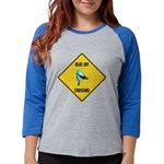 crossing-sign-blue-jay Womens Baseball Tee