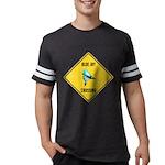 crossing-sign-blue-jay Mens Football Shirt