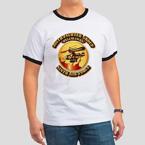 AAC - 365th FG - 9th AF - Hell Hawks Ringer T