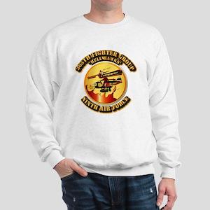 AAC - 365th FG - 9th AF - Hell Hawks Sweatshirt