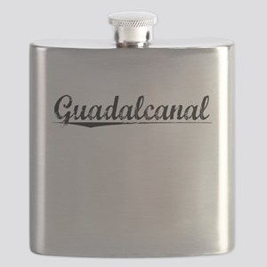 Guadalcanal, Aged, Flask
