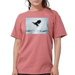 Soaring Bald Eagle Womens Comfort Colors Shirt