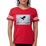 Soaring Bald Eagle Womens Football Shirt