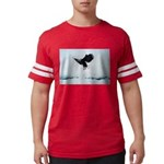 Soaring Bald Eagle Mens Football Shirt
