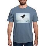 Soaring Bald Eagle Mens Comfort Colors Shirt