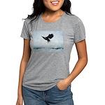 Soaring Bald Eagle Womens Tri-blend T-Shirt
