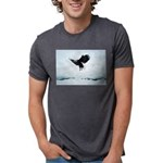 Soaring Bald Eagle Mens Tri-blend T-Shirt