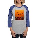 canada-geese-CROP-text.png Womens Baseball Tee