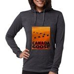 canada-geese-CROP-text.png Womens Hooded Shirt
