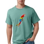 FIN-scarlet-macaw.p... Mens Comfort Colors Shirt