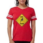 crossing-sign-budgie Womens Football Shirt