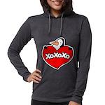 FIN-penguin-love-2-300ppi Womens Hooded Shirt