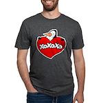FIN-penguin-love-2-300ppi Mens Tri-blend T-Shirt