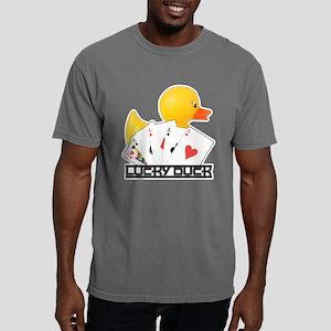 Lucky Duck Poker Mens Comfort Colors Shirt