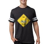 crossing-sign-swan Mens Football Shirt