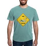 crossing-sign-swan Mens Comfort Colors Shirt