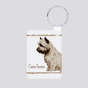 cairn drawing no back Aluminum Photo Keychain