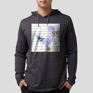 parrot--joke Mens Hooded Shirt