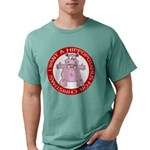 FIN-hugging-hippo-christmas Mens Comfort Color