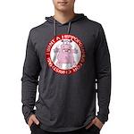 FIN-hugging-hippo-christmas Mens Hooded Shirt