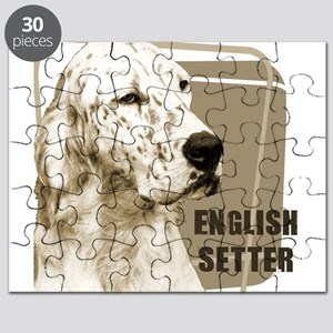 english setter head black Puzzle