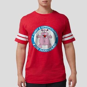 FIN-hippopotamus-for-hanukkah Mens Football Sh
