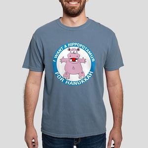 FIN-hippopotamus-for-hanukkah Mens Comfort Col