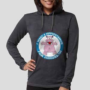 FIN-hippopotamus-for-hanukkah.png Womens Hooded Sh