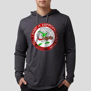 FIN-hippo-boxing-day-circle Mens Hooded Shirt