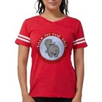 FIN-hippo-talk-tail-NEW Womens Football Shirt