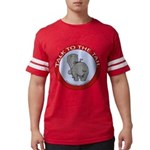 FIN-hippo-talk-tail-NEW Mens Football Shirt