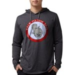 FIN-hippo-talk-tail-NEW Mens Hooded Shirt