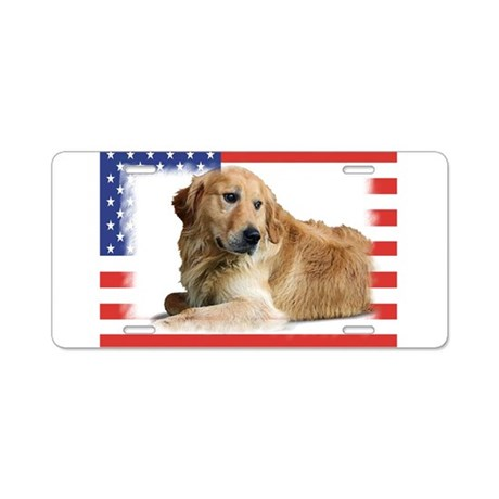 Patriotic-2.jpg Aluminum License Plate