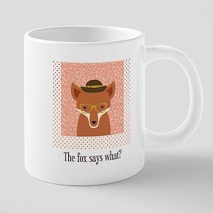 What Does the Fox Say 20 oz Ceramic Mega Mug