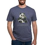 Panda Eats Shoots & Leaves Mens Tri-blend T-Shirt
