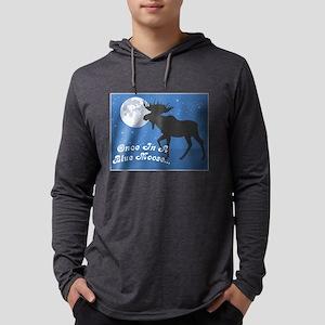 FIN-blue-moose-2 Mens Hooded Shirt