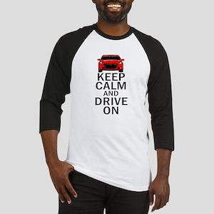 Dart - Keep Calm Baseball Jersey