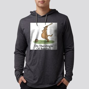 FIN-origin-of-baseball Mens Hooded Shirt