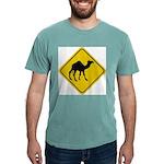 Camel Crossing Sign Mens Comfort Colors Shirt