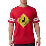 crossing-sign-giraffe Mens Football Shirt