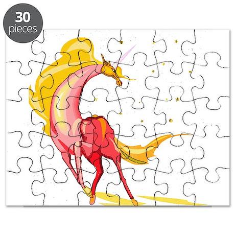 orange yellow unicorn glitter.png Puzzle