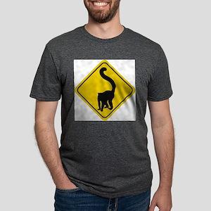 lemur-crossing-sig.... Mens Tri-blend T-Shirt