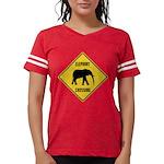 elephant-crossing-sign Womens Football Shirt