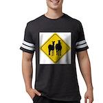 zebra-crossing-sign... Mens Football Shirt