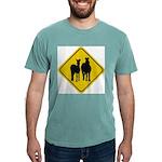 zebra-crossing-sign... Mens Comfort Colors Shirt