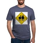 zebra-crossing-sign... Mens Tri-blend T-Shirt