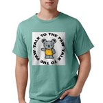 Funny Koala Mens Comfort Colors Shirt