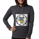 Funny Koala Womens Hooded Shirt