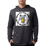 Funny Koala Mens Hooded Shirt