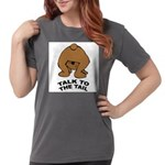 talk-tail-bear-2 Womens Comfort Colors Shirt